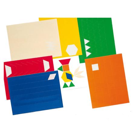 Klistermärken Logiska block - 7763-285-6