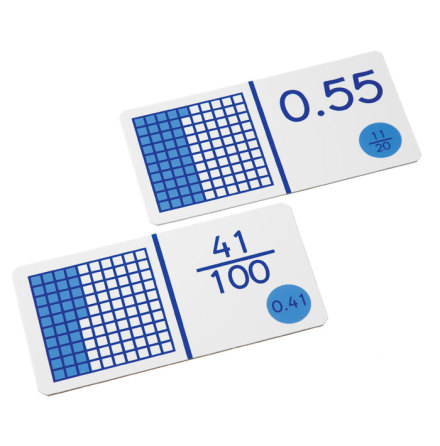 Domino - Bråk/decimal - tal och bild 7762-542-1