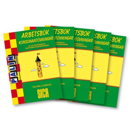 Konsonantövningar Arbetsbok 5-pack - 7762-149-2