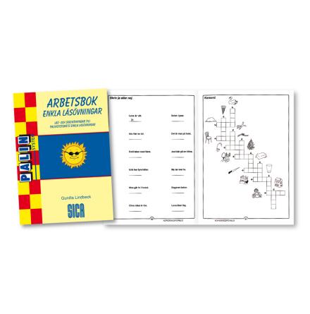 Enkla läsövningar, Arbetsbok - 7762-110-2