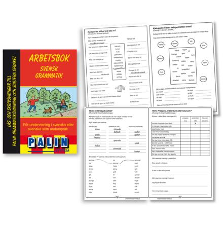 Svensk grammatik - arbetsbok - 7762-116-4