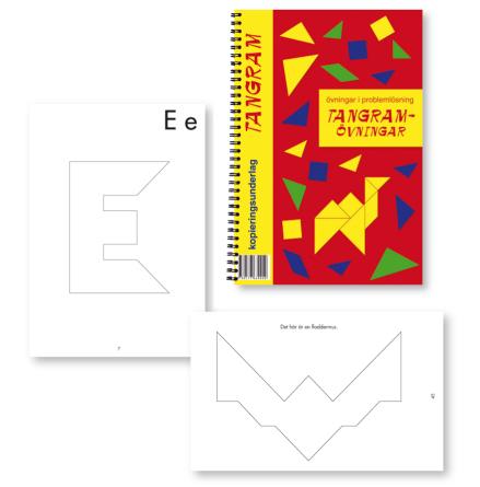 Tangramövningar - Övningsbok till Tangram - 7763-401-0