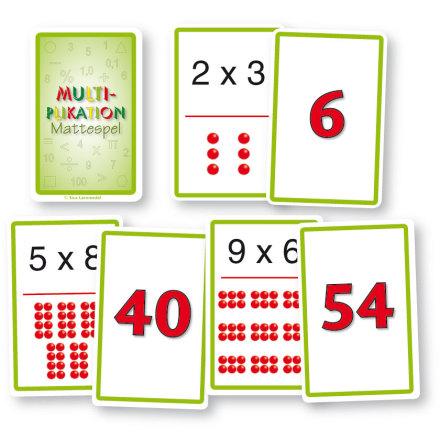 Mattekortlek - Multiplikation - 7763-277-1
