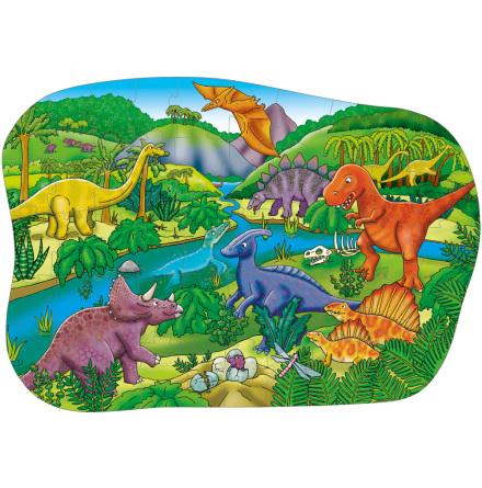 Språkpussel - Dinosaurier - 7763-838-4