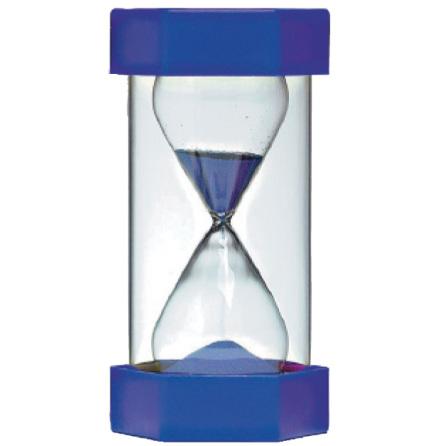Timglas 5 min blå - 7763-895-7