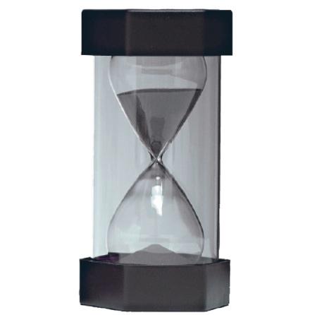 Timglas 30 min svart - 7763-898-8
