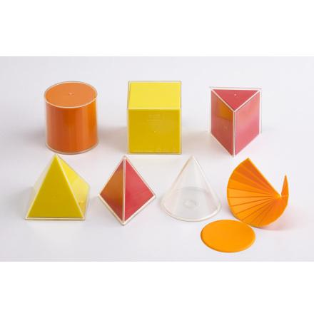 Geometriska figurer 2D/3D - lilla lådan - 7763-420-1