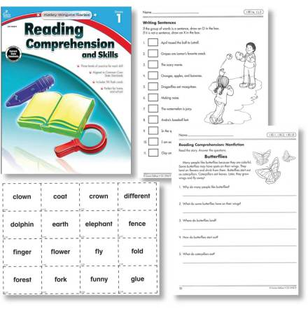 Reading Comprehension and Skills 1 - 7763-520-8