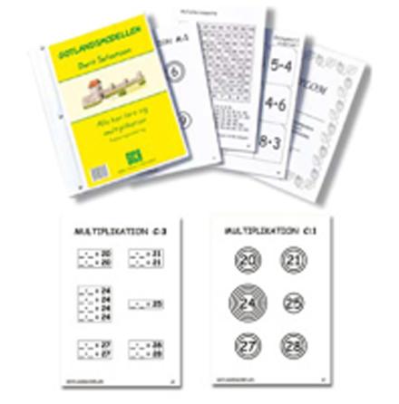 Gotlandsmodellen - Multiplikation - 7762-648-0