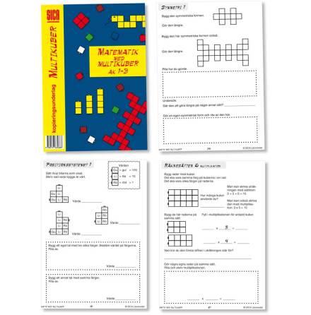 Matematik med Multikuber - 7763-468-3