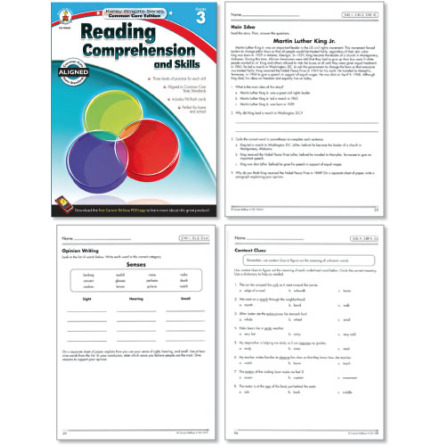 Reading Comprehension and Skills 3 - 7763-524-6