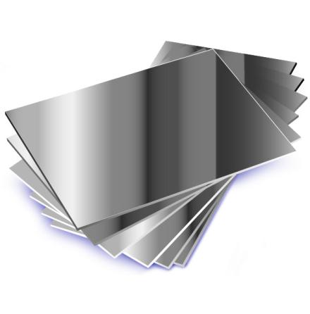 Speglar i plast A4 10-pack - 7763-949-7