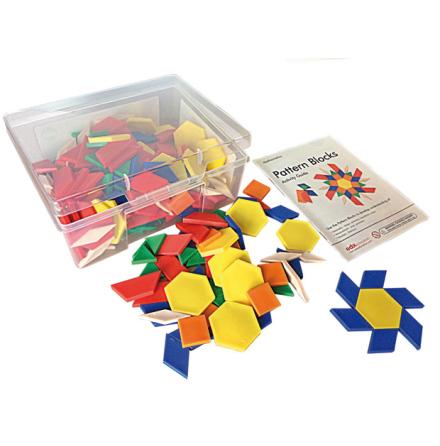 Logiska Block i plast (250 st) - 7763-282-5