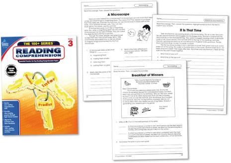 100+ Reading Comprehension 3 - 7763-511-6