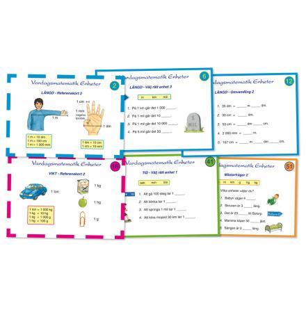 Vardagsmatematik - Enheter - 7762-602-2