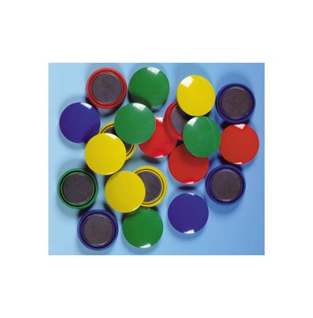 Magneter, färgade, 20 st - 7762-634-3