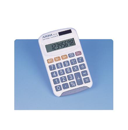 Miniräknare Solcell - 7762-401-1