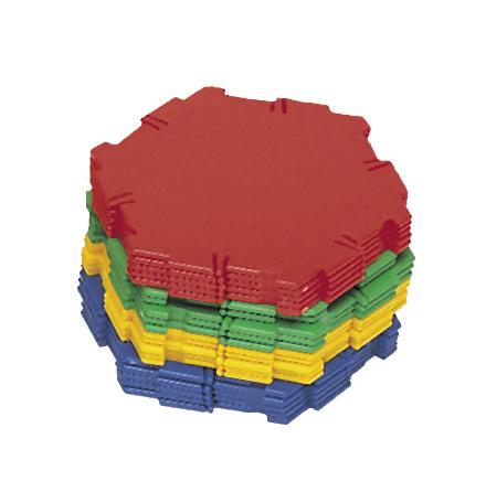 Polydron tillbehör - Hexagoner - 7763-324-2