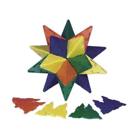 Polydron tillbehör - Likbenta trianglar - 7763-321-1