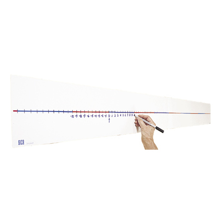 Tallinje neutral, väggmodell 200 cm - 7762-411-0