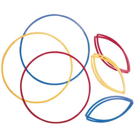 Sorteringsringar 6 st 3 färger - 7763-408-9