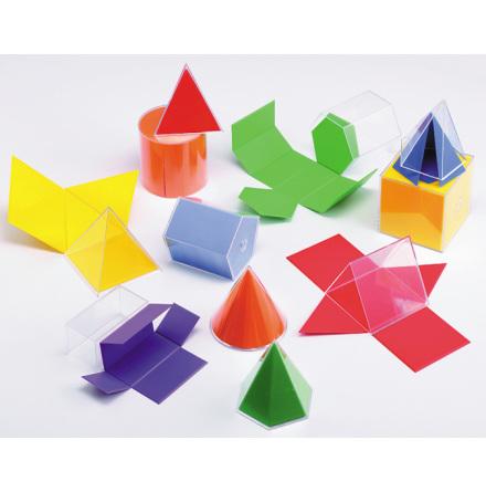 Geometriska figurer 2D och 3D - 7763-411-9