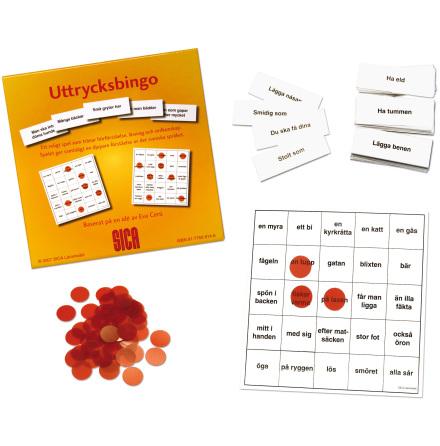 Uttrycksbingo - 7762-914-6