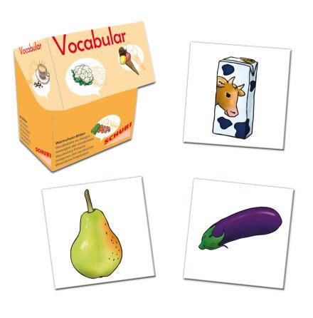 Vocabular - Mat, frukt och grönt - 7763-673-1