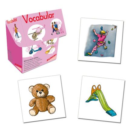 Vocabular - Leksaker, sport och fritid - 7763-674-8