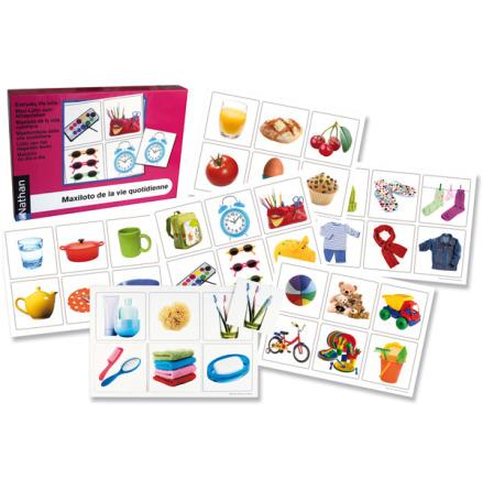 Språklotto - Färgglada vardagssaker - 7763-073-9